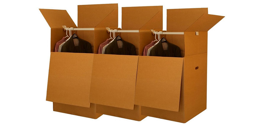 How to Use the Wardrobe Boxes when Moving ON